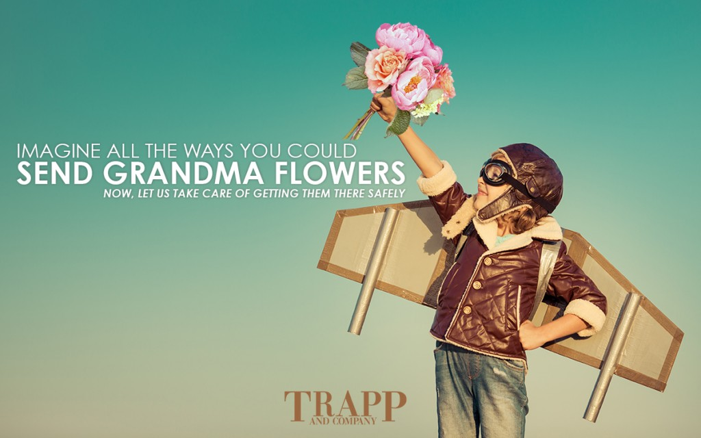 Send flowers nationwide through Trapp and Company