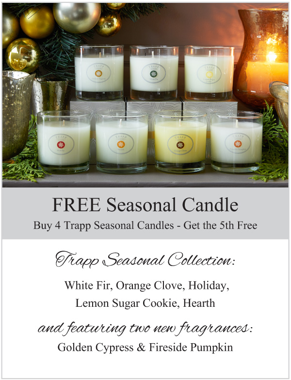 Trapp Seasonal Candles