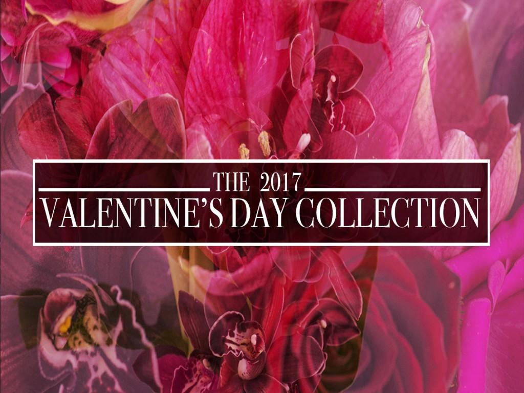Trapp and Company's 2017 Valentine's Day Collection is available for same day delivery in Kansas City.